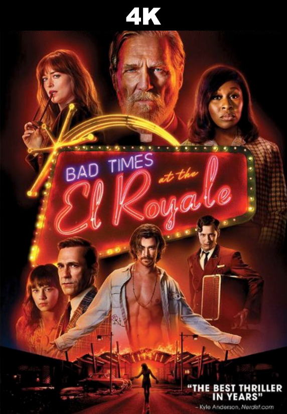 Bad Times at the El Royale (4K iTunes / 4K Vudu)