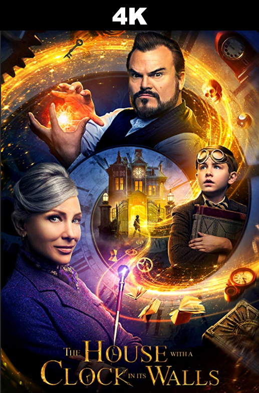 House With a Clock In Its Walls (4K iTunes and 4K Vudu)