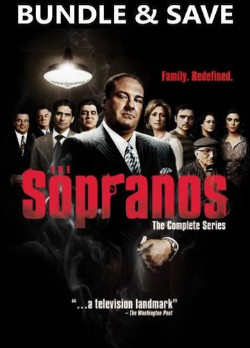 Sopranos : Complete Series (HD Vudu, HD iTunes, or HD Google Play)