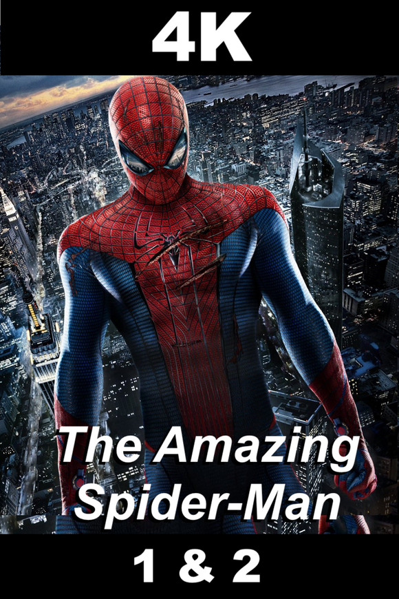 Amazing Spider-Man 1 & 2 [DOUBLE FEATURE] (4K)