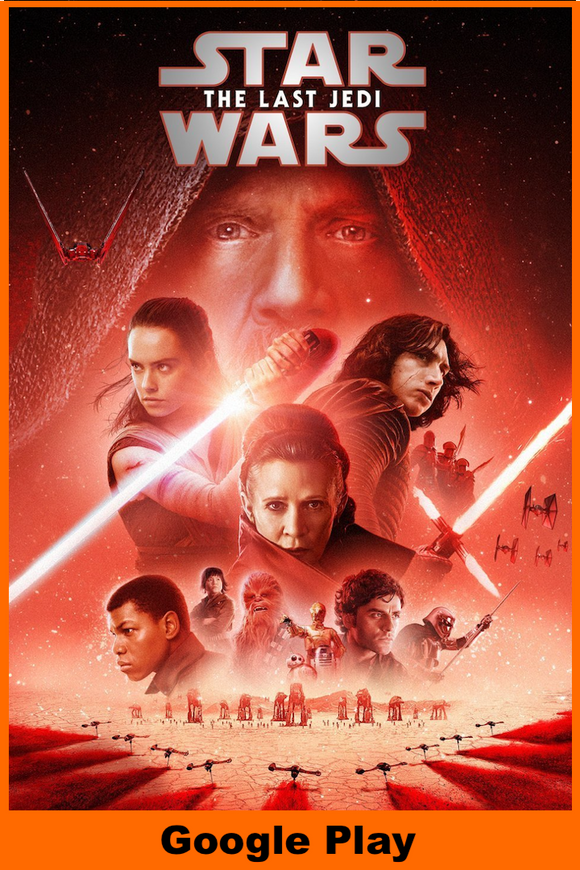 Star Wars: The Last Jedi (HD Google Play Redeem)