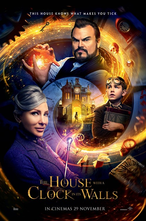 House With a Clock In Its Walls (HD iTunes and Vudu)