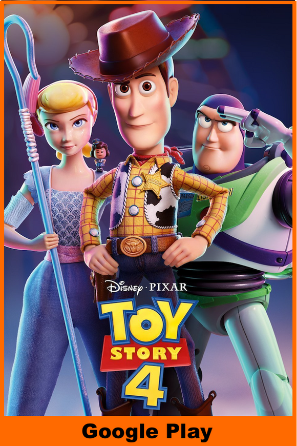 Toy Story 4 (HD Google Play Redeem)