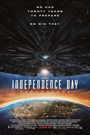 Independence Day: Resurgence (4K iTunes or 4K/HD Vudu)