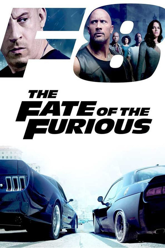 The Fate of the Furious (4K iTunes, 4K Vudu, or HD Vudu)