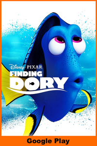 Finding Dory (HD Google Play Redeem)