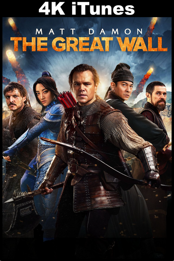 The Great Wall (4K iTunes)