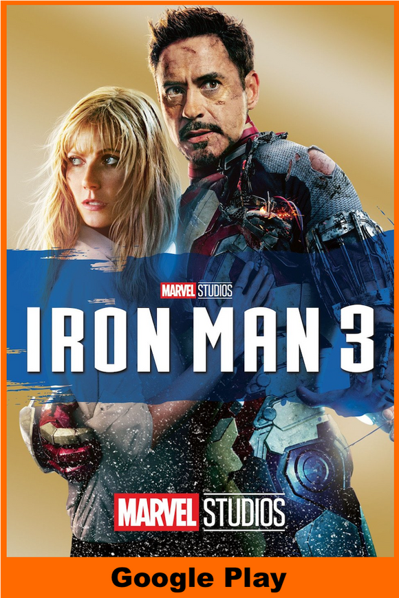 Iron Man 3 (HD Google Play Redeem)