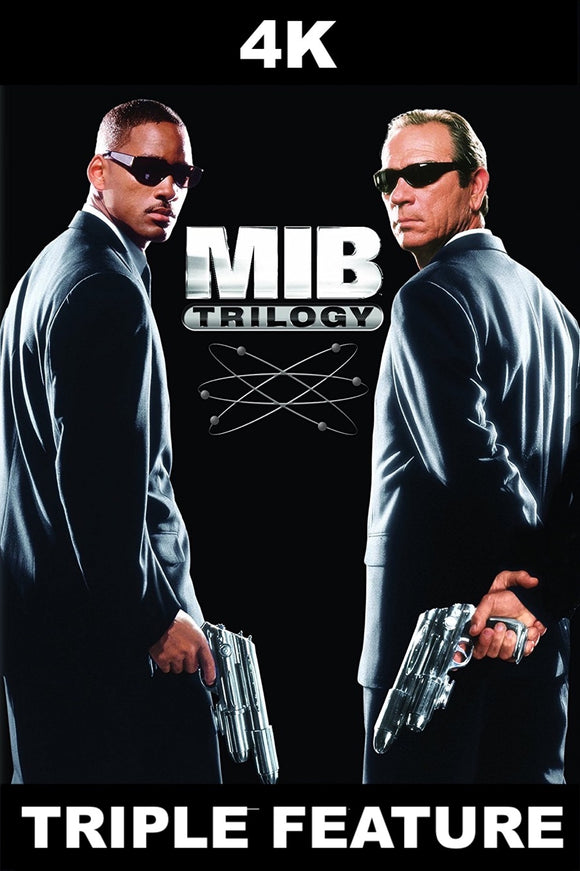 Men In Black Trilogy [TRIPLE FEATURE] (4K iTunes / Vudu)
