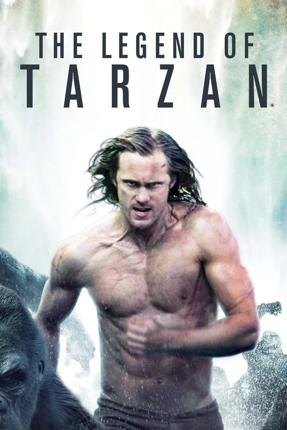 The Legend of Tarzan (HD iTunes / VUDU)