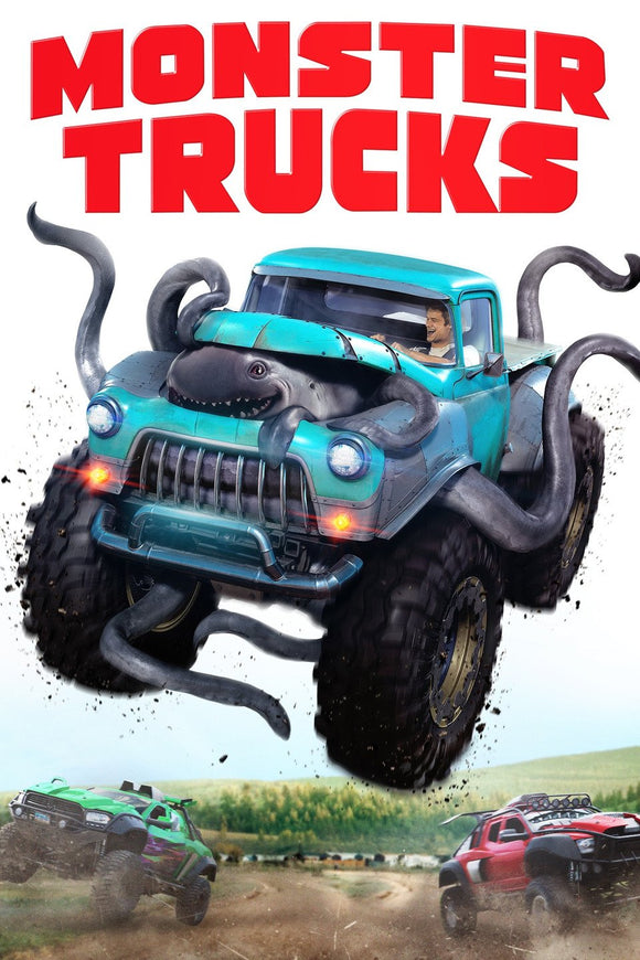 Monster Trucks (4K iTunes or HD Vudu)