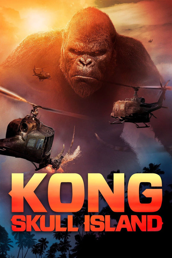 KONG : Skull Island (HD iTunes and Vudu)