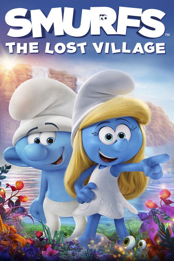 Smurfs : The Lost Village (HD iTunes and Vudu)