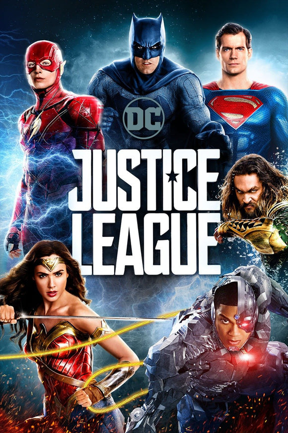 Justice League (HD iTunes / Vudu)