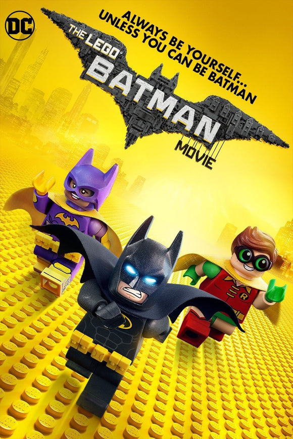 Lego Batman Movie, The (HD iTunes and Vudu)
