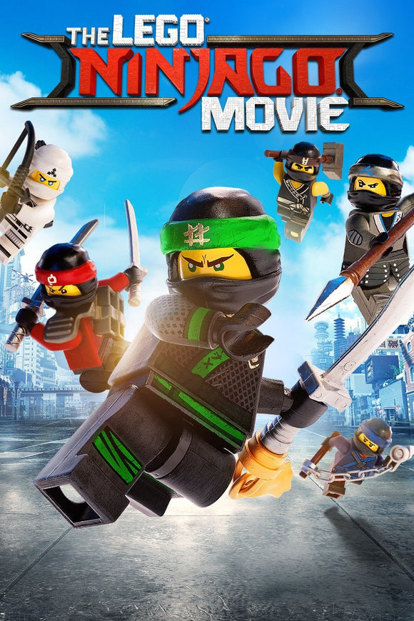 Lego Ninjago Movie, The (HD iTunes and Vudu)
