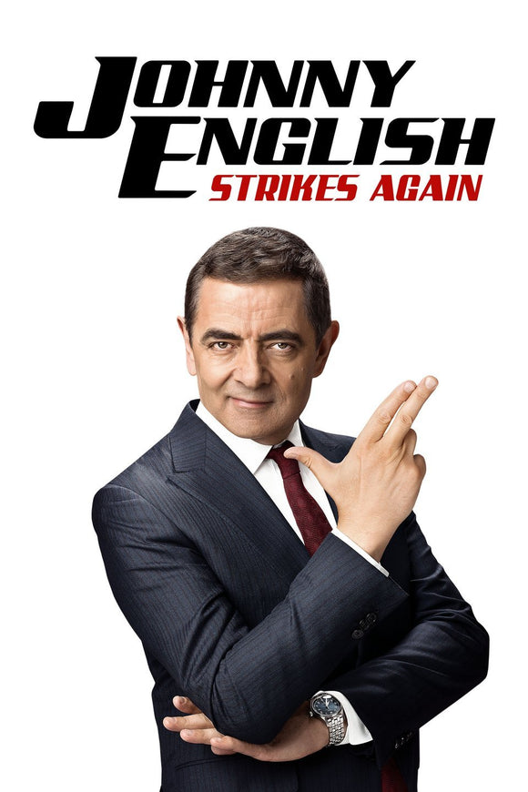 Johnny English Strikes Again (HD iTunes / VUDU)