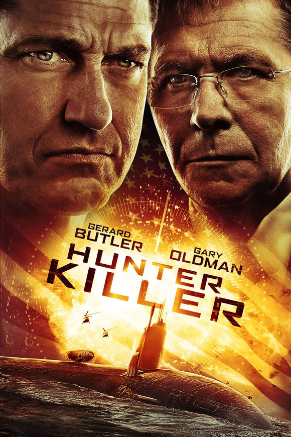 Hunter Killer (4K iTunes or HD Vudu)