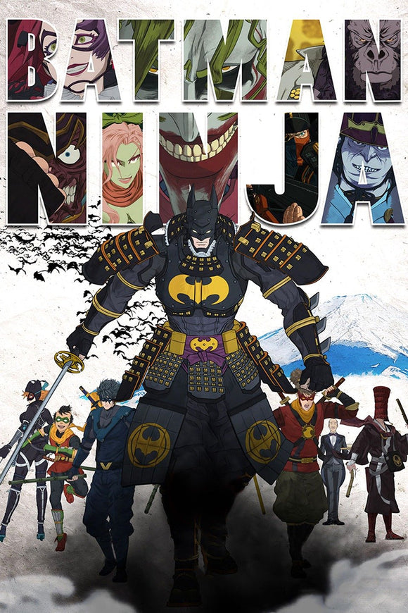 Batman Ninja (HD iTunes / VUDU)