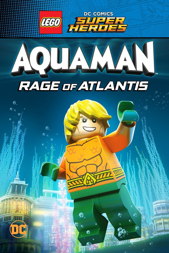 LEGO DC Super Heroes : Aquaman : Rage of Atlantis (HD iTunes / VUDU)