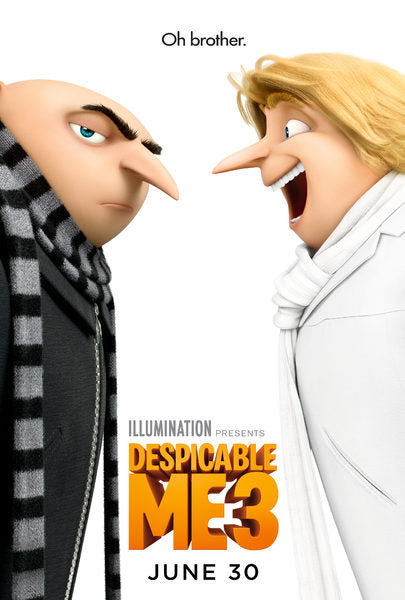 Despicable Me 3 (4K iTunes, 4K Vudu, or HD Vudu)