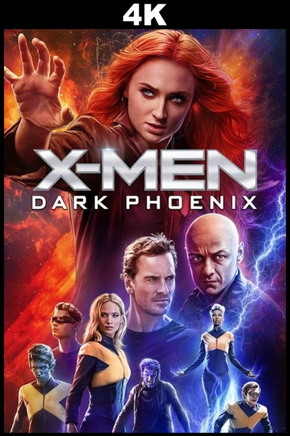 X-men: Dark Phoenix (4K iTunes / 4K VUDU)