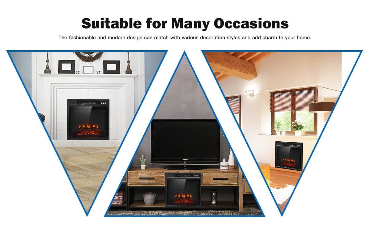 """The received electric fireplace makes life more fun"""