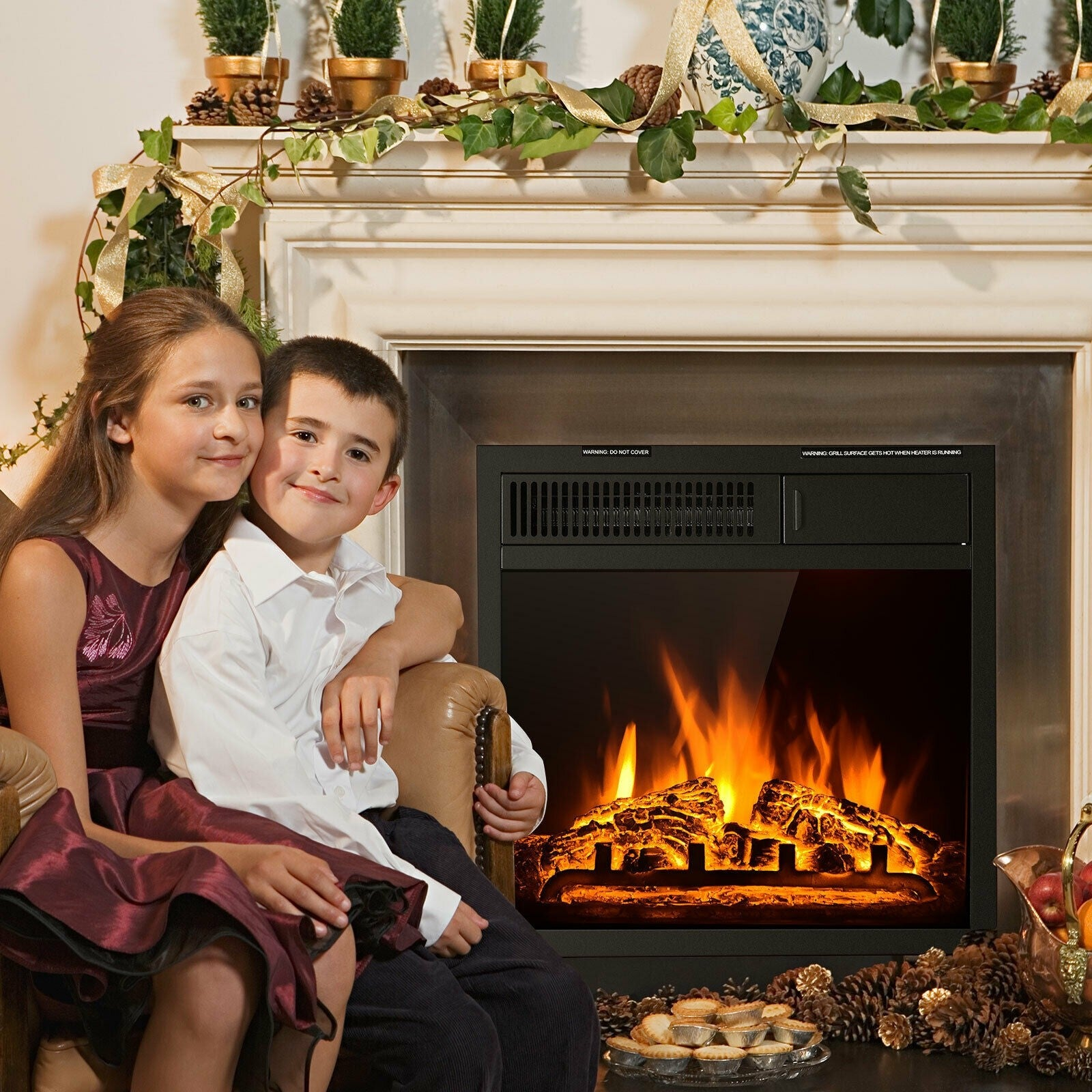 """Best Method to Measure for your Electric Fireplace Insert"""