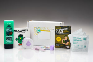 Dadoo Box gift for new dad and baby