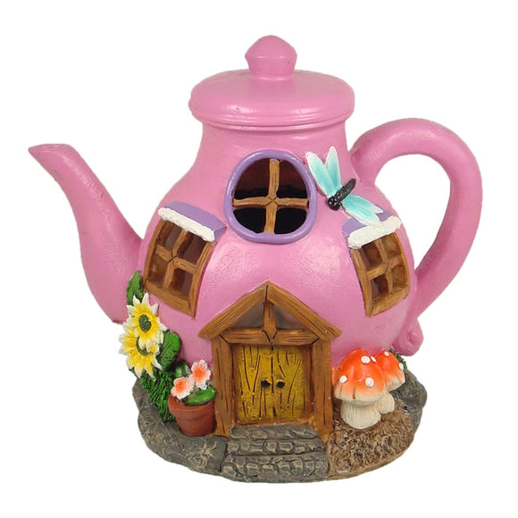 Solar Fairy House – Teapot