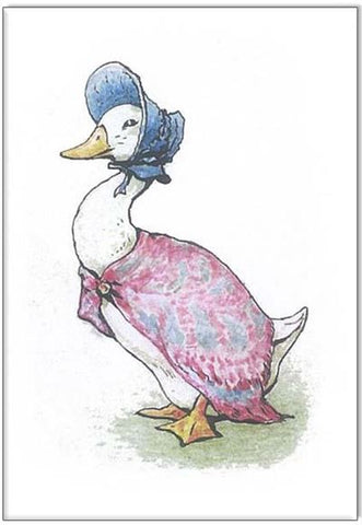 Jemima Puddle Duck Mini Card