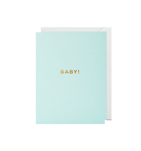 Baby Blue Mini Card