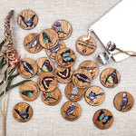 Buttonworks Birds & Butterflies Memory Game