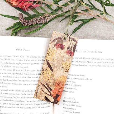 Buttonworks Coloured Wildflower Bookmark