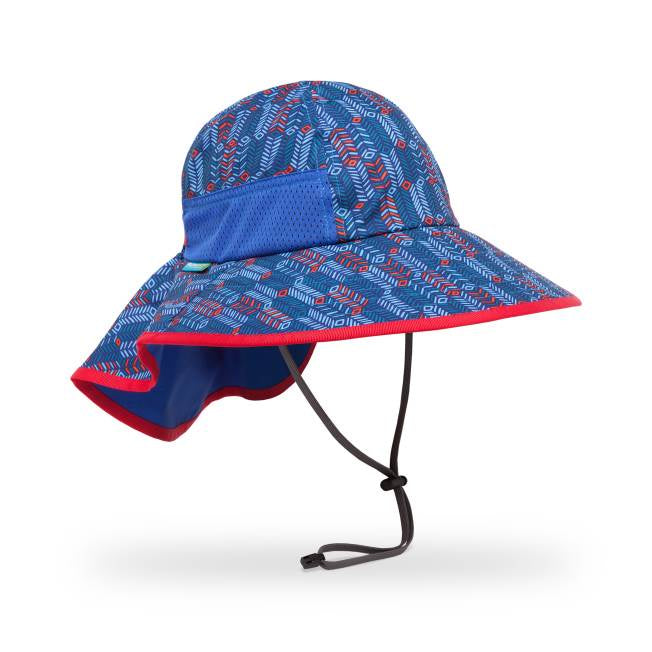 Kids Play Hat: Blue Arrow/Royal