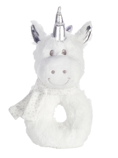 Ogilvies Snuggle Pets Rattle - Unicorn