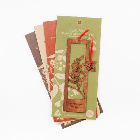 Buttonworks Tea Tree Bookmark