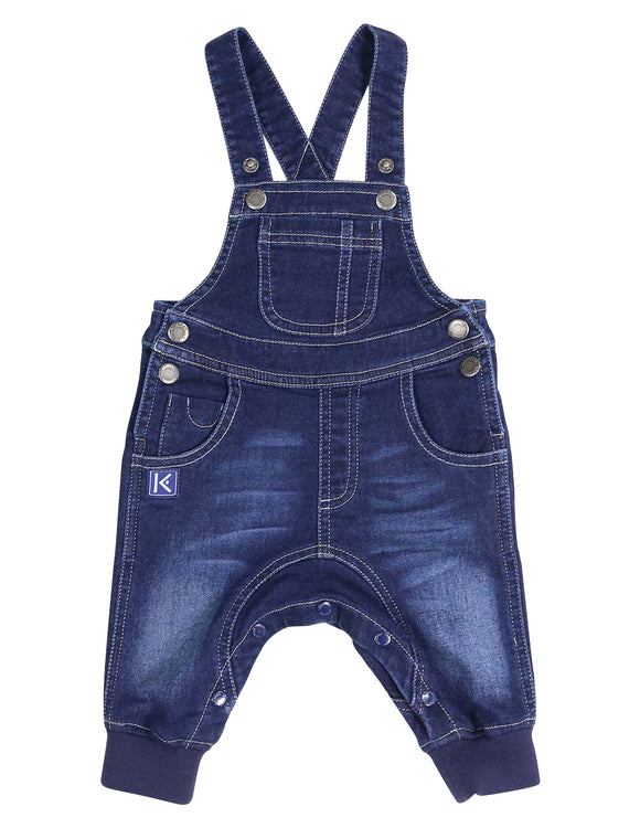 Denim Knit Overall