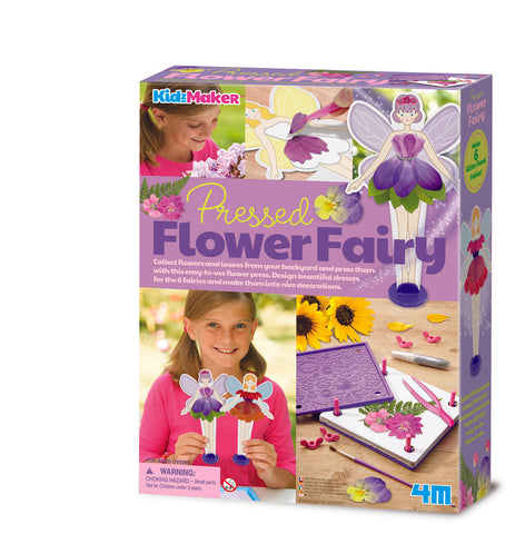 4M - KidzMaker - Pressed Flower Fairy