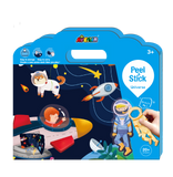 Avenir - Peel and Stick - Space Galaxy Play Set