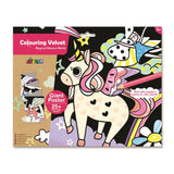 Avenir Colouring Velvet Giant Poster Magical Unicorn World 6920773316907