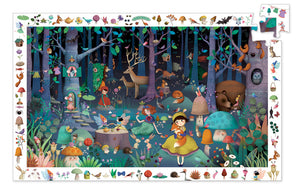 Djeco Enchanted Forest Puzzle 100pc