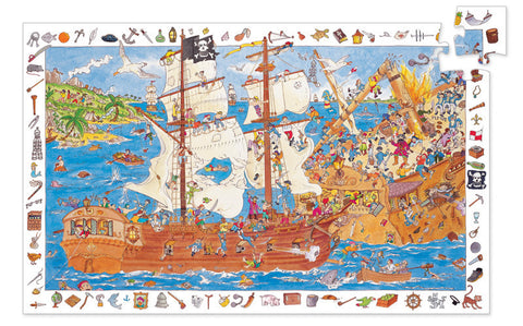 Djeco Pirates 100pc Observation Puzzle