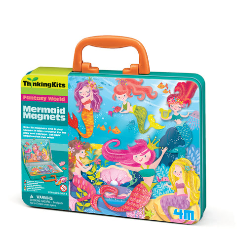 4M ThinkingKits Mermaid Magnets
