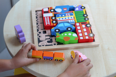 Kiddie Connect Chunky Vehicles