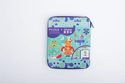 Puzzle and Draw - Magnetic Kit