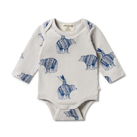 Wilson & Frenchy Organic Envelope Bodysuit Little Adventures