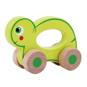 Wooden Wheelie Turtle Toyslink