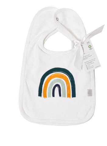 Babu Bib Set Rainbow Dark