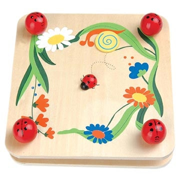 Wooden Flower Press Ladybug Toyslink